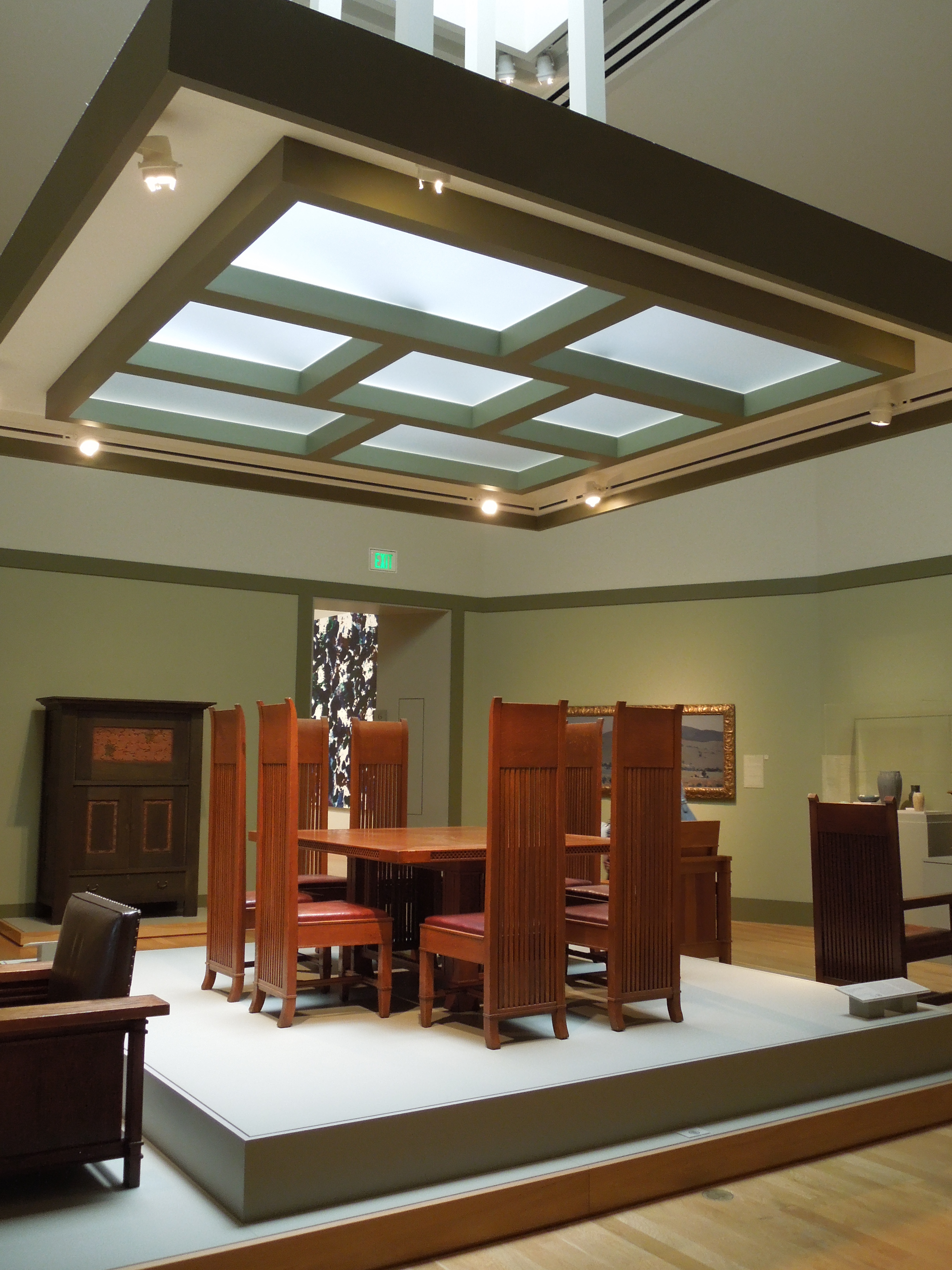 Franklloydwright the anecdotal goat for Frank lloyd wright interior designs