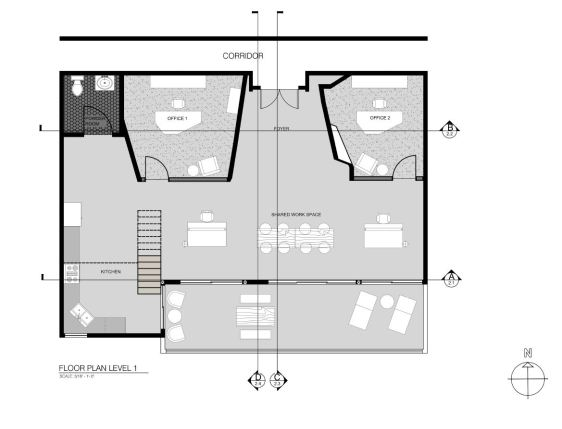 Floor Plan Level 1
